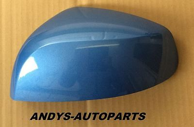 VAUXHALL AGILA 08 ONWARDS NEW WING MIRROR COVER LH OR RH IN MOROCCAN BLUE