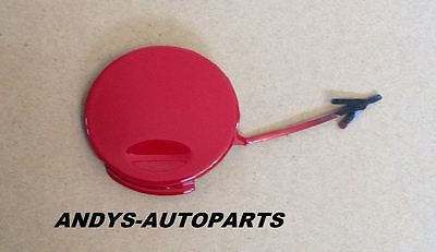 VAUXHALL INSIGNIA 2008 - 2013 REAR TOWING EYE COVER IN POWER RED  (colour code: 50B / GBH )