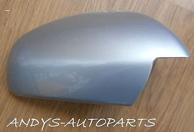 VAUXHALL / OPEL VECTRA 2002 - 2008 WING MIRROR COVER L/H OR R/H IN SILVER LIGHTNING CODE 163 / 4AU / GBJ