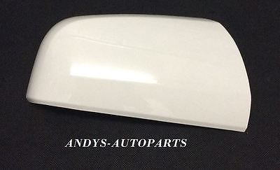 VAUXHALL / OPEL ZAFIRA 59 ONWARDS NEW WING MIRROR COVER LH OR RH SIDE IN OLYMPIC WHITE colour code: 40R / GAZ