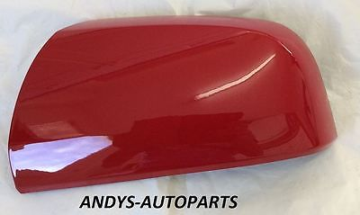 VAUXHALL / OPEL ZAFIRA 59 ONWARDS (NEW) WING MIRROR COVER LH OR RH SIDE IN POWER RED 50B / GBH