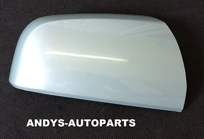VAUXHALL / OPEL ZAFIRA 59 ONWARDS  WING MIRROR COVER LH OR RH SIDE IN MING GREEN 30C