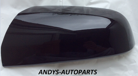 VAUXHALL / OPEL ZAFIRA B 2005 - 2009 (NEW) WING MIRROR COVER LH OR RH SIDE IN SAPPHIRE BLACK 20R / 2HU