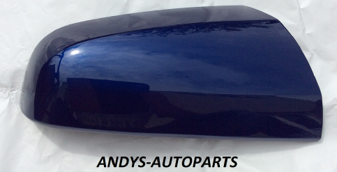 VAUXHALL / OPEL ZAFIRA B 2005 - 2009 (NEW) WING MIRROR COVER LH OR RH SIDE IN ULTRA BLUE 21B / 4CU