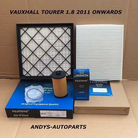 VAUXHALL TOURER 1.8L 16V  2011 ONWARDS  FILTER SERVICE KIT