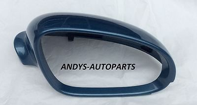 VW EOS 06-2010 WING MIRROR COVER L/H OR R/H IN EISMEER BLUE