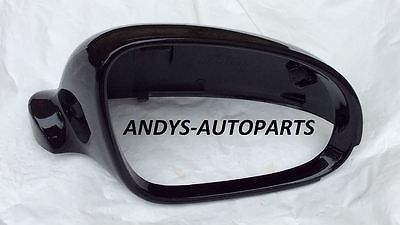 VW GOLF 2004 -2008 WING MIRROR COVER L/H OR R/H IN METALLIC BLACK