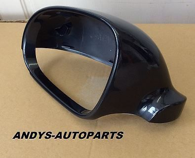 VW JETTA 2006 -2010 WING MIRROR COVER L/H OR R/H IN DEEP BLACK PEARL CODE LC9X