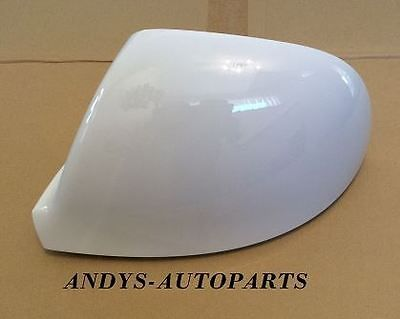 VW TRANSPORTER T6 10 ONWARDS WING MIRROR COVER L/H OR R/H IN CANDY WHITE