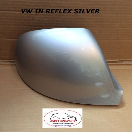 VW TRANSPORTER T6 10 ONWARDS WING MIRROR COVER L/H OR R/H IN REFLEX SILVER